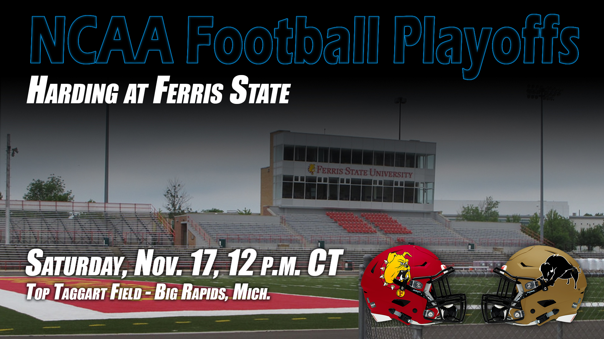 Harding Football Earns No 7 Seed Meets Ferris State On Saturday